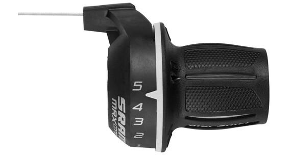 SRAM MRX Comp Drejegreb Gearhåndtag 5-gears bag/højre sort